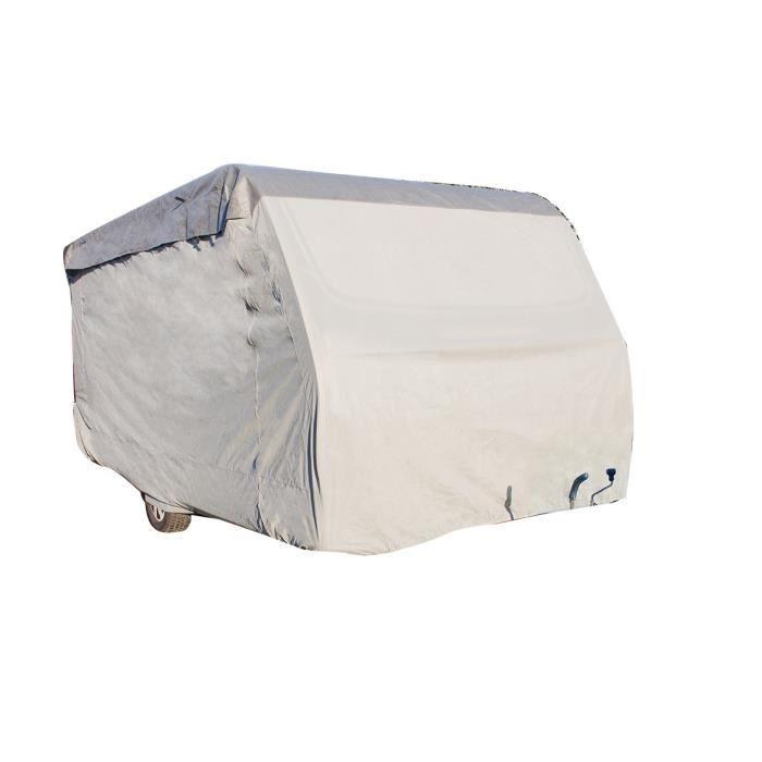 Housse pour caravane 590 x 250 x 220 cm - Gris