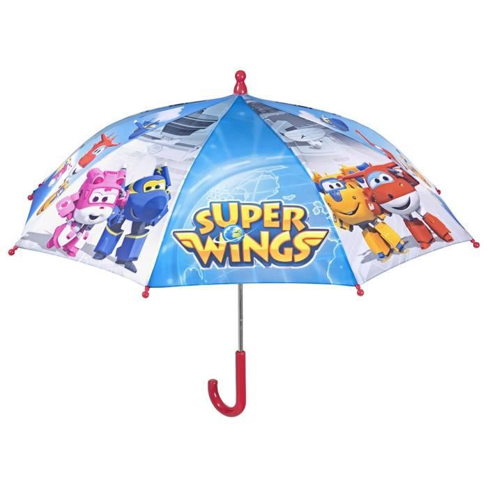 SUPER WINGS - Parapluie Manuel - Bleu