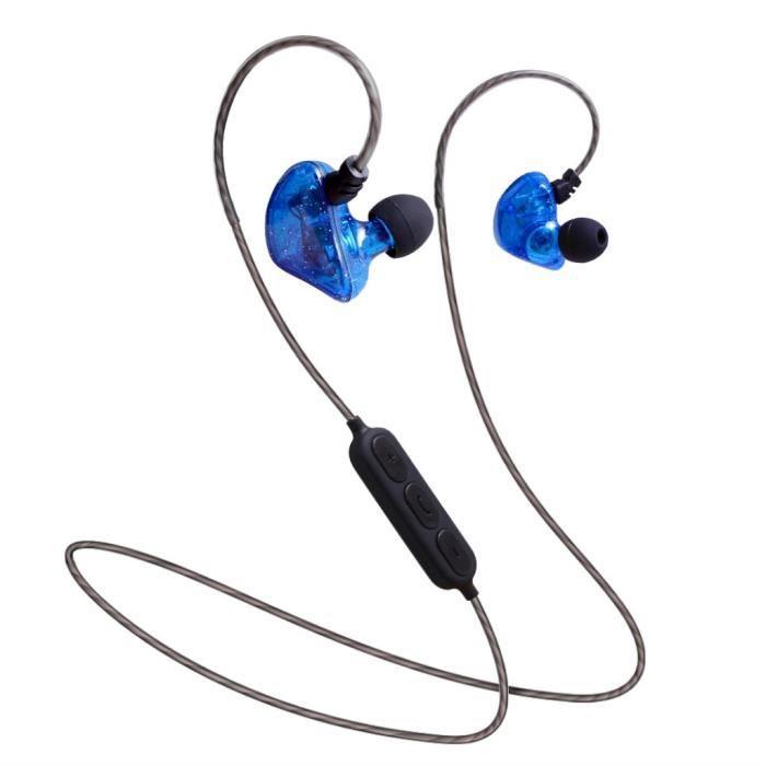 Hanging Sport Cou Bluetooth Écouteurs Oreille Métal Shell Super Bonne Qualité Sonore @lm4929