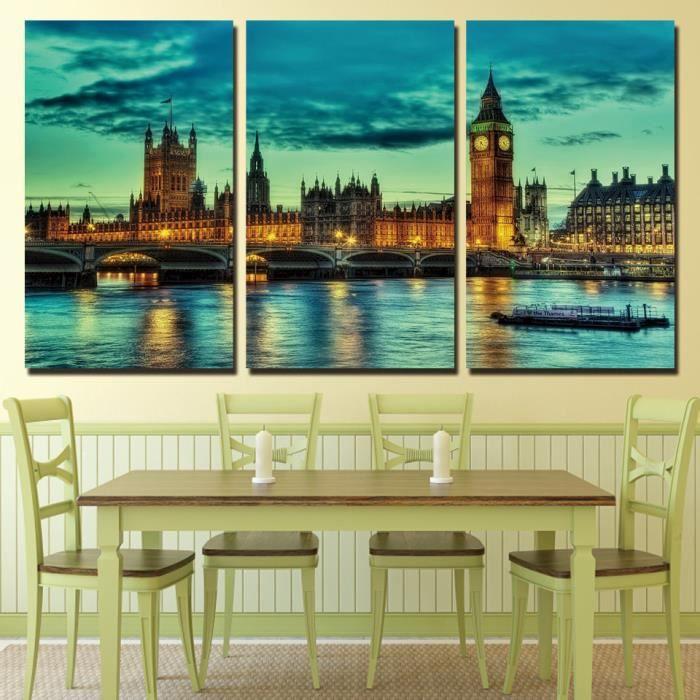 Nouvelle Arrivée Limitée 3 Panneaux Toile Art Panorama Angleterre ...