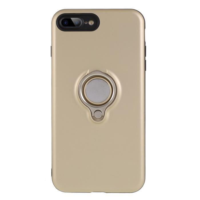 coque iphone 8 compatible induction et anneau