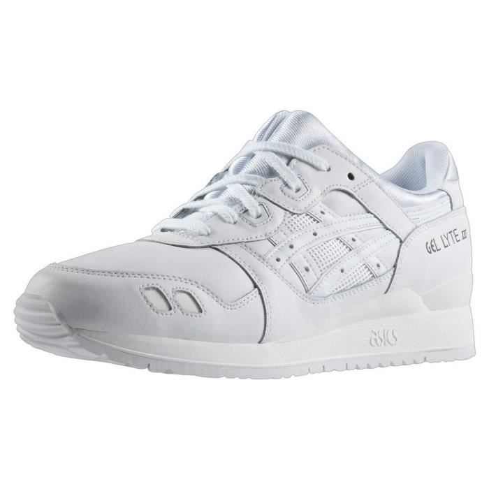 LYTE III ASICS GEL CHAUSSURES WHITE 0FCSw