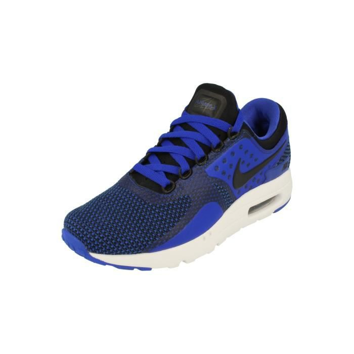 Nike Air Max Zero Essential Hommes Running Trainers 876070 Sneakers Chaussures 001 (EU 44.5)