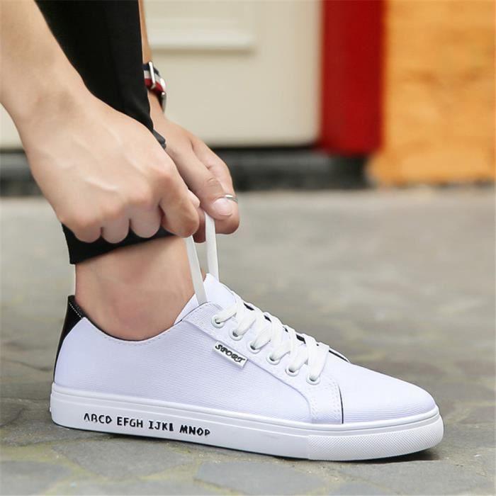 Sneakers Hommes Plus De Couleur Nouvelle arrivee Sneaker Poids Léger Qualité Supérieure Simple Chaussure Confortable Durable 39-44 JOpk2MeK6