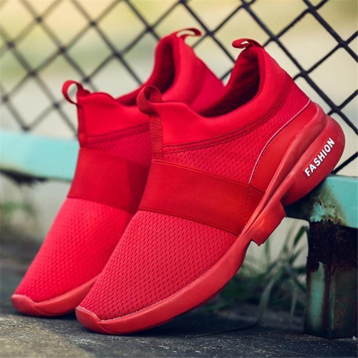 blanc Simple Mode Homme Personnalité rouge Durable 44 Chaussures 39 Qualité Noir Nouvelle Super Sneakers Meilleure HrYqYg6I