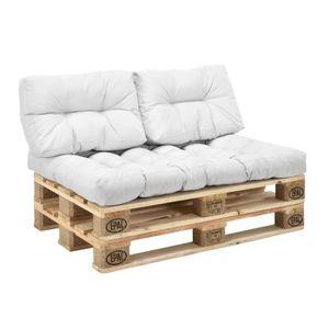 coussin exterieur pour palette achat vente coussin exterieur pour palette pas cher cdiscount. Black Bedroom Furniture Sets. Home Design Ideas