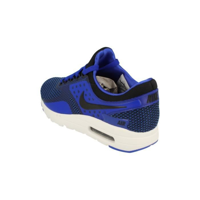 Nike Air Max Zero Essential Hommes Running Trainers 876070 Sneakers Chaussures 001 (EU 44.5) qNw5W