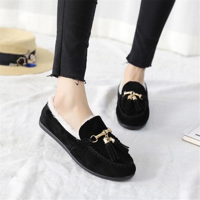 35 Léger Couleur 40 Mode Mocassin Poids Plus Chaussures noir Marron Classique gris Qualité Respirant Femmes Haut De zTw07wq