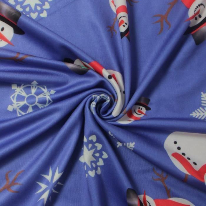 Femmes Robes de Noël est pour Casual Père Noël Imprimer manches longues A-ligne Robes Taille 6-20 2YBHFF Taille-34