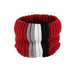 ECHARPE - FOULARD Garçons rayé Patchwork chaud tricot d hiver pour ... 9a0e6fe859a