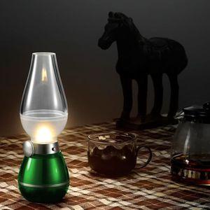 LAMPE A POSER LED rétro lampe créatif souffler contrôle Nuit Lam