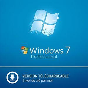 SYST EXPLOIT À TÉLÉCHARGER Windows 7 Pro Professionnel - 32/64 bits - A Téléc
