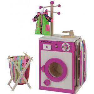 MAISON - MÉNAGE howa - Laverie, Lave linge en bois, Machine à lave