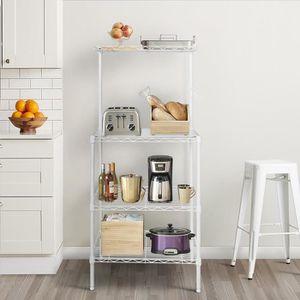 etagere pour four micro onde achat vente etagere pour four micro onde pas cher soldes d s. Black Bedroom Furniture Sets. Home Design Ideas