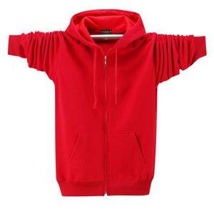 473d933e22b26 Sweatshirt à Capuche Homme en Molleton Casual Sweat de Sport Veste D ...