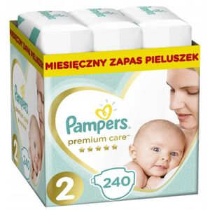 COUCHE Pampers - Premium Protection - Couches Taille 2 -