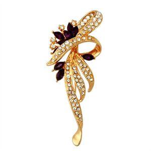 BROCHE Broche strass Breloque en cristal Diamante pour un