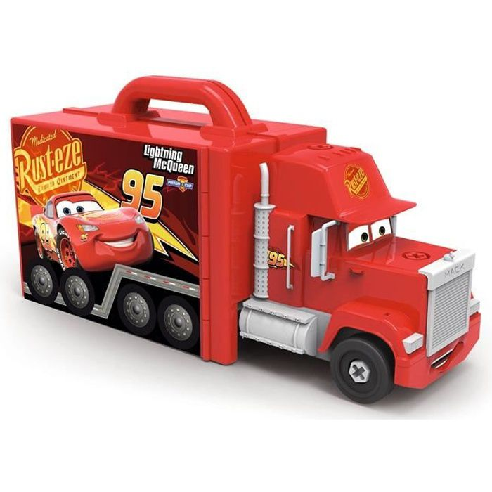 CARS 3 Smoby Mack Truck Simulator + Voiture/Piles