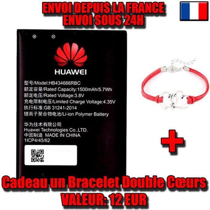 Batterie Huawei HB434666RBC pour E5573, E5573S, E5573s-856, E5573s-320,  E5573s-606, E5573s-806, pour router et pour les clés 3G/4G