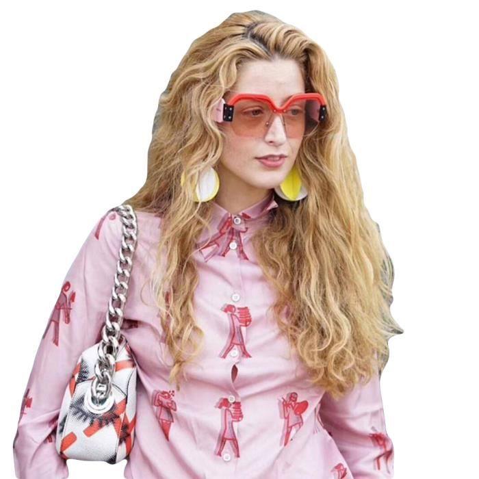 Grande Cadre luxe de marque homme et Rétro soleil femme sunglasses Lunettes  mixte café avec de ... 64b9aa624791