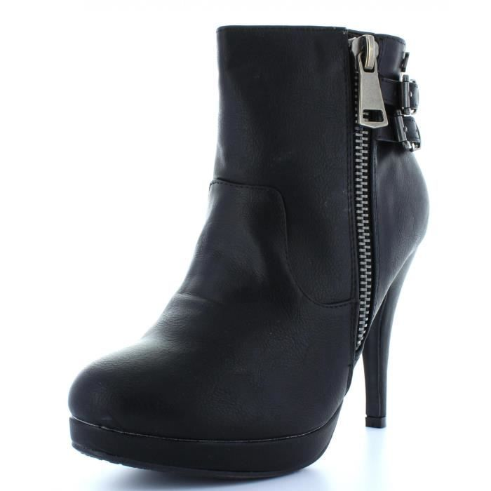Refresh 61123 Negro - Chaussures Bottine Femme