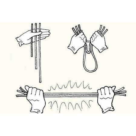 tour de magie avec une corde