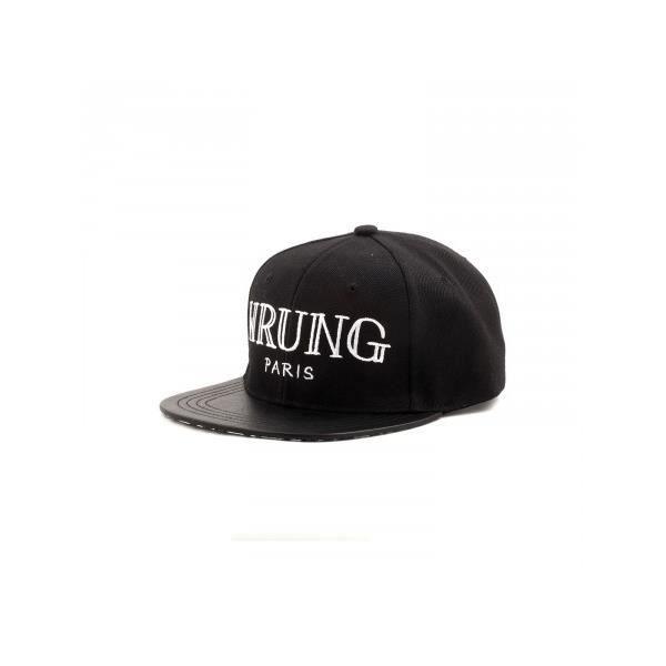 Los Angeles codes promo haut de gamme authentique Casquette Wrung DELUXXE noir Noir - Achat / Vente casquette ...