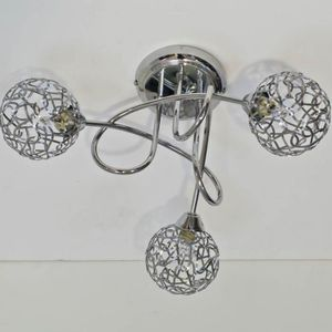 Lampe plafond led achat vente lampe plafond led pas for Plafonnier boule design