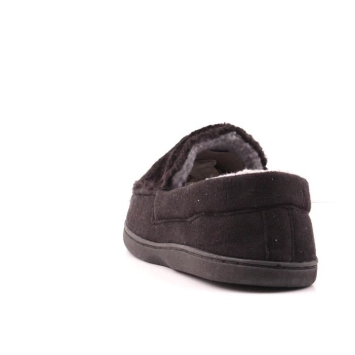 Black Toasty Loafer Slippers I1TQO Taille-43 gyBXRlOoU