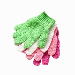 SET ACCESSOIRES Gants de douche exfoliant peau de lavage Spa gants