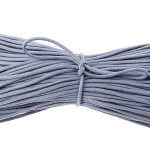LACET  lacets ronds coton ciré couleur bleu pensée - 7…