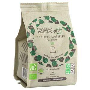 CAFÉ - CHICORÉE ESPRESSO MONTE-CARLO - Café Pure Origine Ethiopie