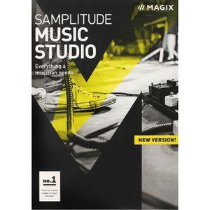 BUREAUTIQUE Logiciel Samplitude Music Studio PC