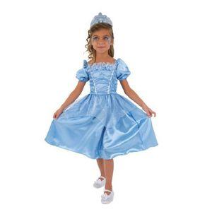 DÉGUISEMENT - PANOPLIE CESAR - C691 - Robe princesse Bleue - 3 / 5 ans