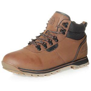 BASKET Chaussures Vitelo Marron Homme Kappa