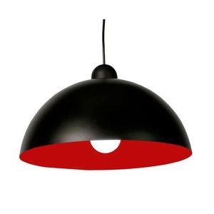 lustre rouge et noir achat vente pas cher. Black Bedroom Furniture Sets. Home Design Ideas