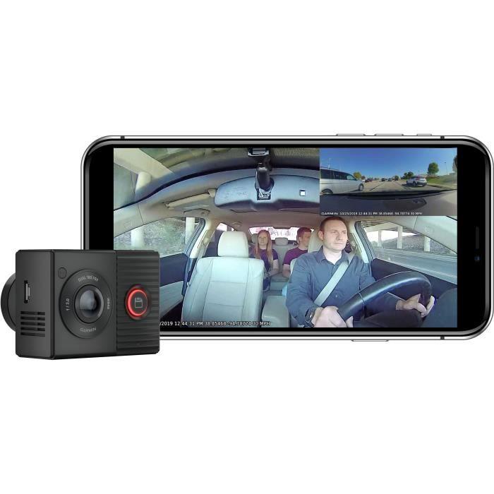 Garmin Dash CamTandem - Caméra de conduite avec vision 360 degrés