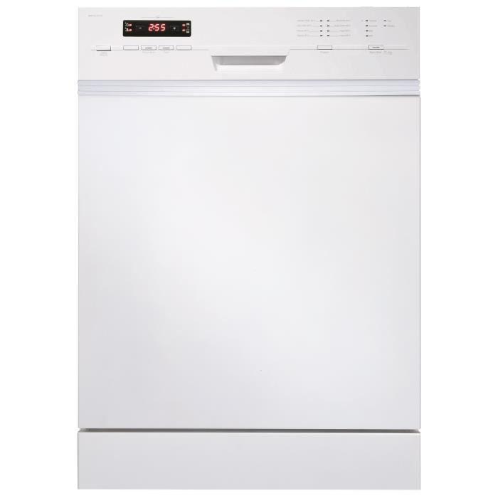 HAIER DW15-T2147 Lave-vaisselle pose libre - 15 couverts - 47 db - A ++ - L 59.6 cm