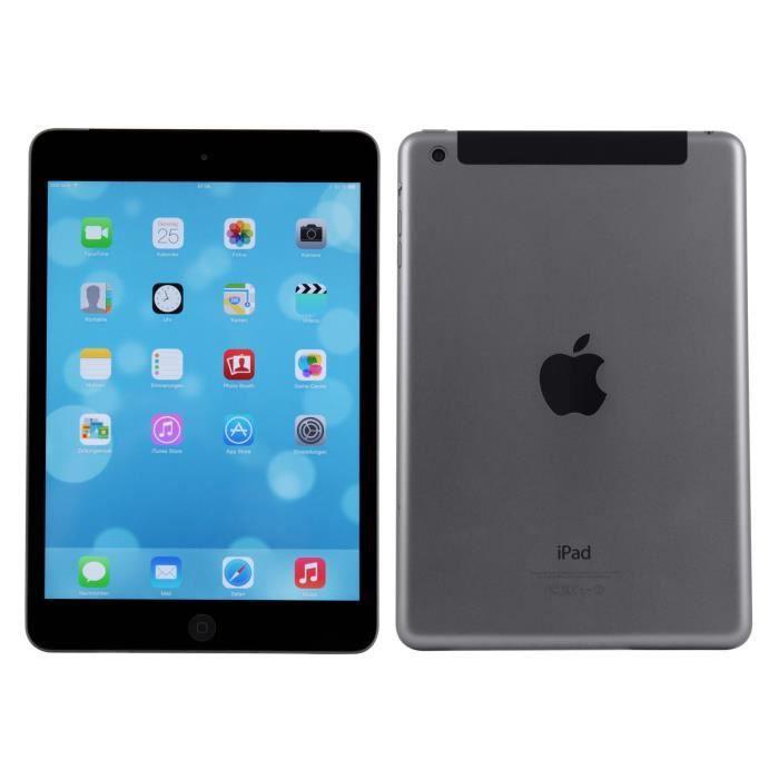TABLETTE TACTILE RECONDITIONNÉE Apple iPad Mini 2 64Go Wi-Fi version Blanc débloqu