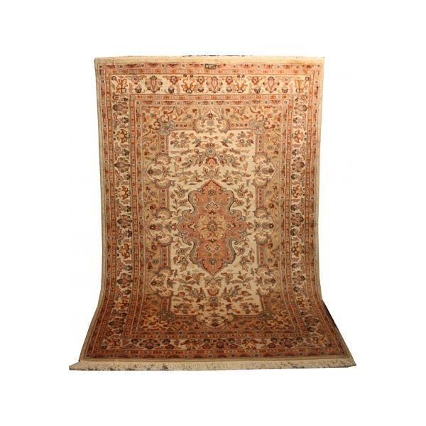 tapis pakistan laine et soie dessin persan achat vente tapis cdiscount. Black Bedroom Furniture Sets. Home Design Ideas