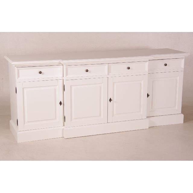 Casa Padrino Shabby Chic Country Style Sideboard Cabinet White