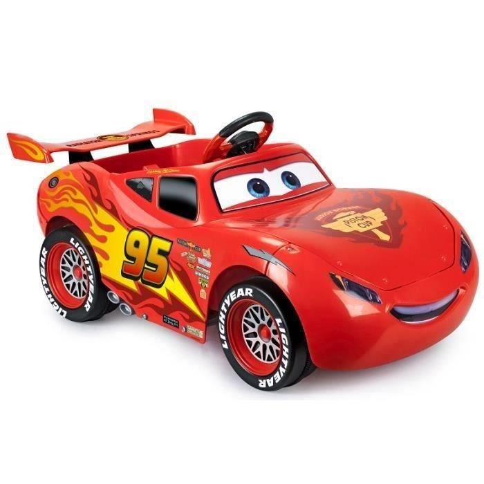 Feber voiture cars 3 flash mcqueen voiture electrique enfant batterie 6v disney achat - Voitures cars disney ...