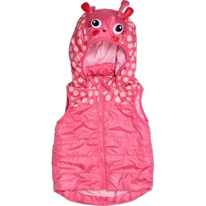 meilleur service 76219 24164 Doudoune bébé fille H&M 18 mois rose été - vêtement bébé ...