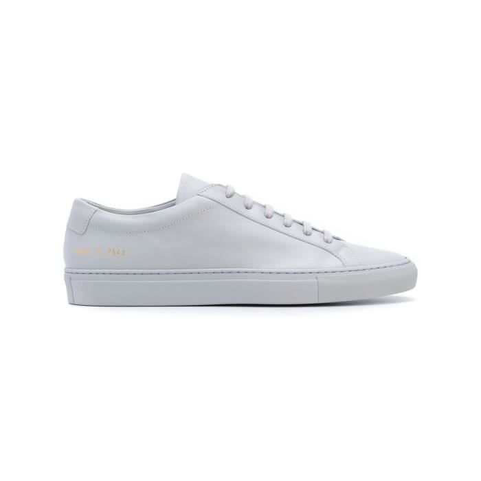 COMMON PROJECTS HOMME 15287543 GRIS CUIR BASKETS