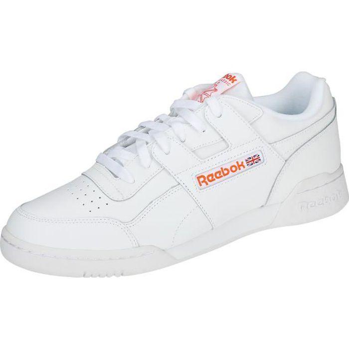 Workout Blanc Orange Mixte Plus Baskets Mu Eu Reebok 36 dqwXSvd