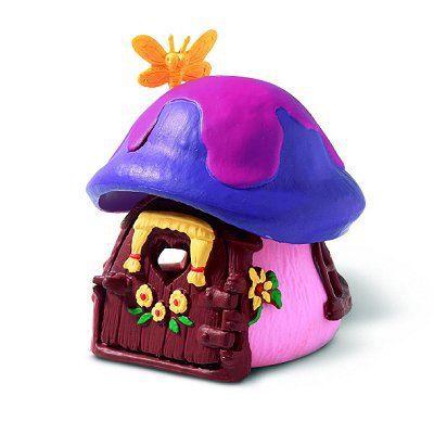 Schtroumpf mini maison schtroumpfette achat vente figurine personnage cdiscount - Schtroumpf maison ...