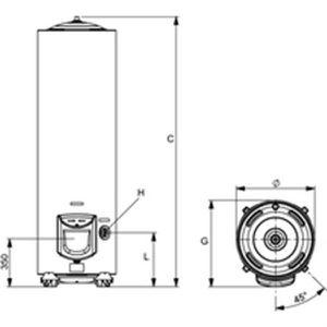 chauffe eau 200 litres achat vente chauffe eau 200 litres pas cher cdiscount. Black Bedroom Furniture Sets. Home Design Ideas