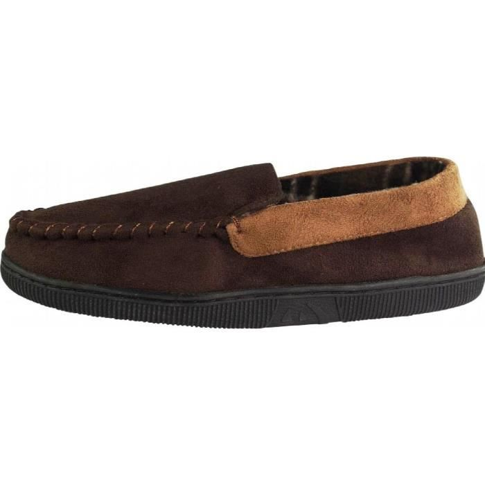 Perry Ellis Twin-stretch Slippers M03LE Taille-M