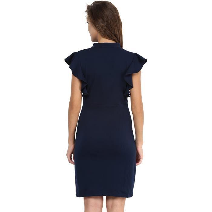 Coton Robe moulante pour femmes JOPSM Taille-40
