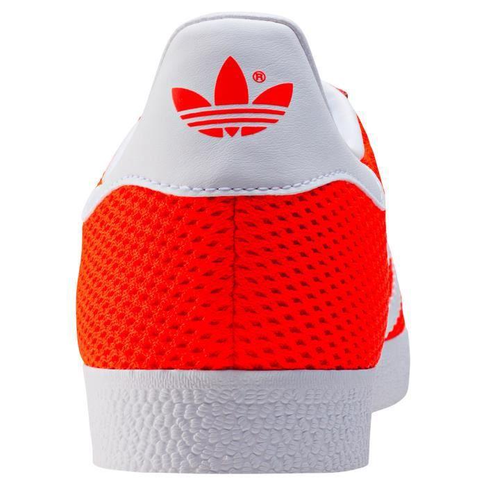 adidas Gazelle Hommes Baskets Red White - 9 UK